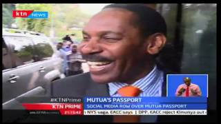 KTN Prime: Film Board Boss Ezekiel Mutua's Diplomatic Passport Has Been Revoked, 29/09/2016