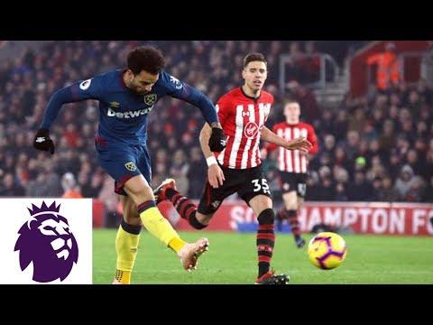Video: Felipe Anderson powers West Ham United past Southampton | Premier League | NBC Sports