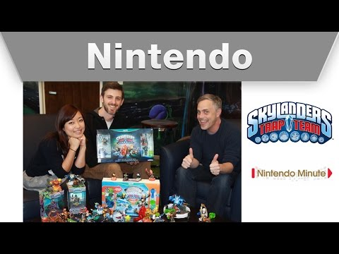 Minute - Hi, We are so excited to have Jeff from Toys for Bob on the show. He's the executive producer of Skylanders TRAP Team! We play through the beginning of the game and show off some of the newest...