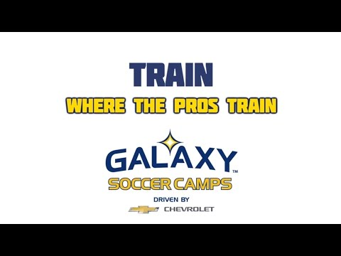 Video: Train where the pros train | LA Galaxy Soccer Camps