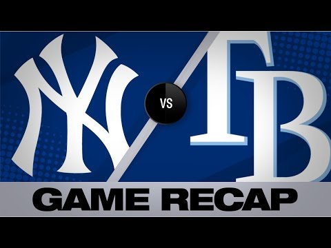 Video: d'Arnaud lifts Rays with walk-off home run | Yankees-Rays Game Highlights 7/6/19