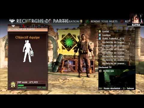 Uncharted 3 Béta - Match à mort équipe + Objectif - ExVSK DF97two Lanikeu