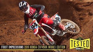 8. First Impressions: 2019 Honda CRF450R Works Edition