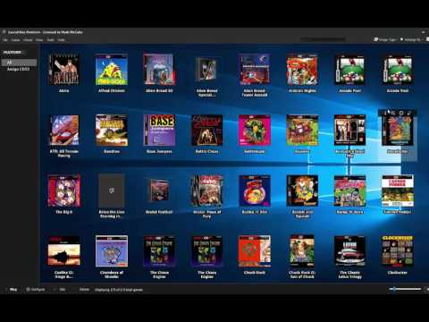[TUTORIAL] Amiga CD32, WinUAE, Launchbox