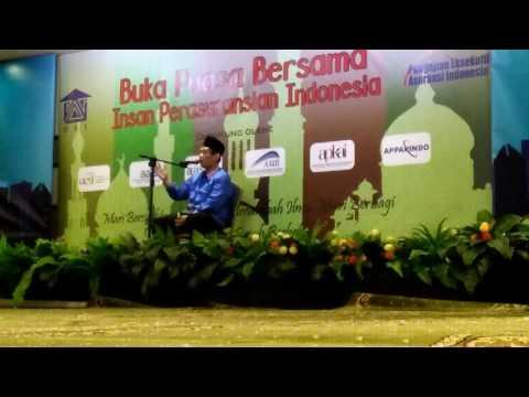 Ceramah Ramadan Prof. Andi Faisal Bakti, MA, Ph. D. 10 Juni 2016 Gedung Permata Kuningan, PART 1