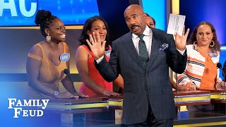 Video Mister Ed, Black Stallion and er... DUMBO | Family Feud MP3, 3GP, MP4, WEBM, AVI, FLV September 2018