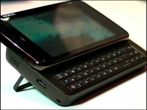 Youtube Video Nokia N900 black