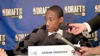 Demar DeRozan - 2009 NBA Draft Media Day Interview