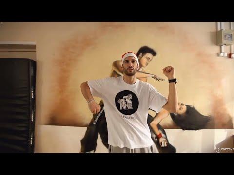 Хип Хоп: движения Smurf, Robocop, Monastery. Урок обучения онлайн.