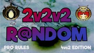 2v2v2 Dominator gameplay with commentary on Defcon 6. Random armies. Don't forget to subscribe! Game: Command and...