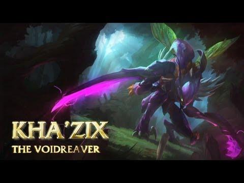 [LoL] Champion Spotlight - Kha'Zix, the Voidreaver - Rus