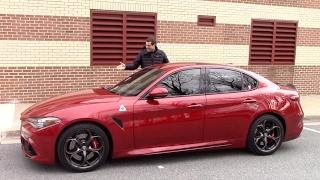 Video Here's Why the Alfa Romeo Giulia Quadrifoglio Is Worth $80,000 MP3, 3GP, MP4, WEBM, AVI, FLV November 2017
