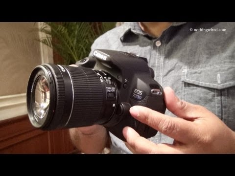 Canon EOS 700D Review Hands on full HD