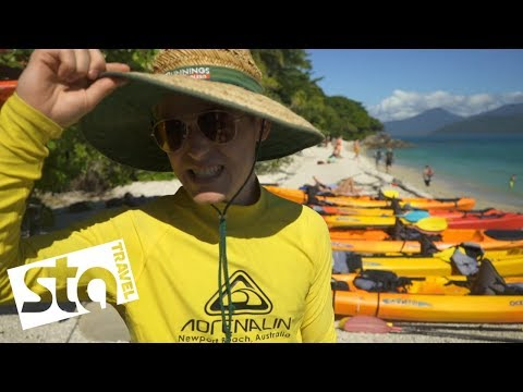 On The Great Barrier Reef with Jacob Dixon | STA Travel (видео)