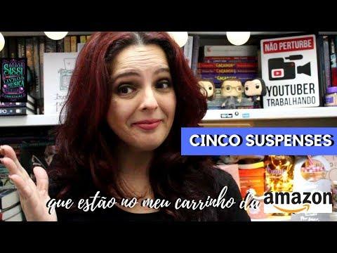5 Suspenses Que Estão No Meu Carrinho da Amazon -  Dicas da Sissi