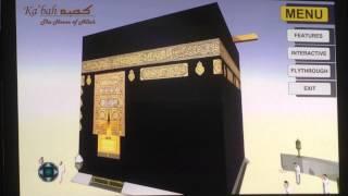 A sample video of Interactive 3D Ka'bah App.