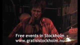 Oh no ono - (Radiohead) Weird fishes - Live at Lilla Hotellbaren, Stockholm, 3(3)