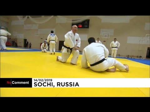 Μικροτραυματισμός Πούτιν σε αγώνα τζούντο