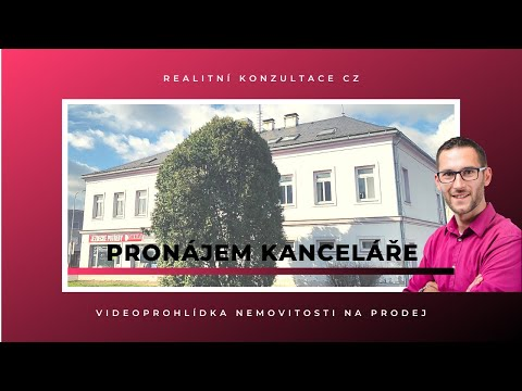 Video Pronájem kanceláře Lanškroun, ul. Komenského