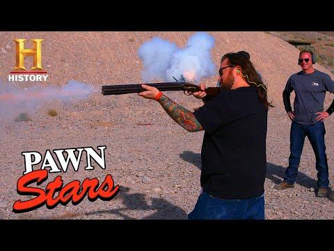 Pawn Stars: CRAZY EXPENSIVE SEVEN BARREL GUN (Season 13)   History