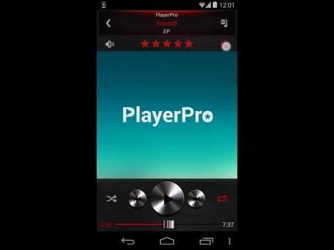 Video of PlayerPro Skin Dark Metal