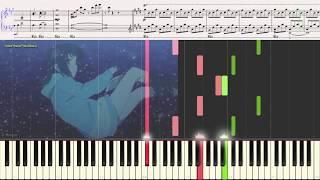 Two Sided Feelings (OST Nagi no Asukara)(Ноты и Видеоурок для фортепиано) (piano cover)
