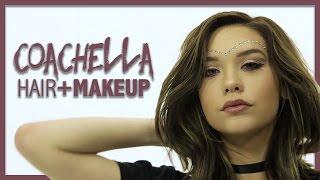 Coachella Hair and Makeup! by Amanda Steele