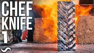 Video MAKING A CHEF'S KNIFE!!! PART 1 MP3, 3GP, MP4, WEBM, AVI, FLV April 2019