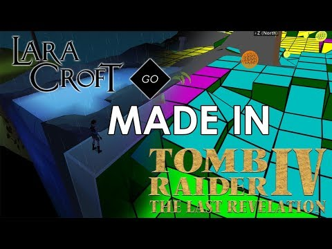 Lara Croft: GO made in TRNG
