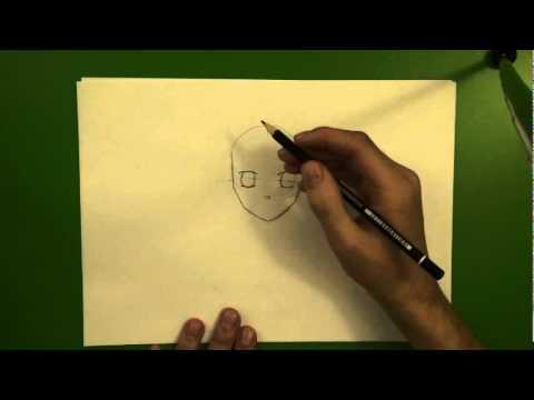 How to draw? – Wie zeichne ich ein Gesicht? (Mangastil)