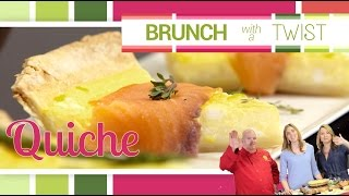 Quiche Three Ways | Brunch With A Twist Series