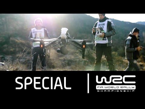 Vídeo el WRC Rallye de MonteCarlo 2016 a vista de drone