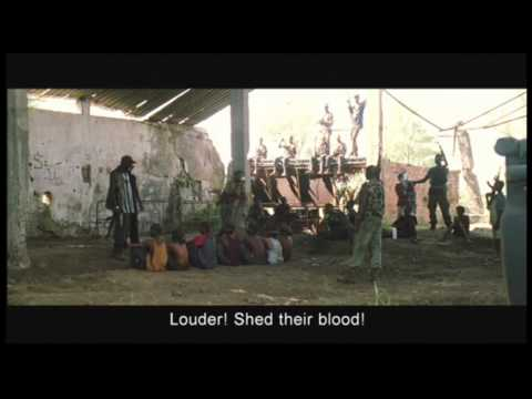 "clip8 (brainwashing child soldiers) ""You are a soldier of the revolution now"" -Blood Diamond (2006)"