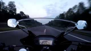 3. Honda cbr500r top speed test ride on the German autobahn