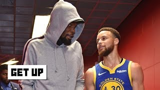 KD playing in Game 4 is a 'Kevin Durant decision'- Richard Jefferson | Get Up