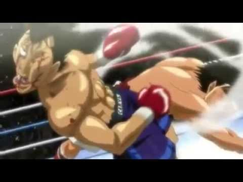 Ippo Rising: Dempsey roll 2.0 against Sawamura vostFR