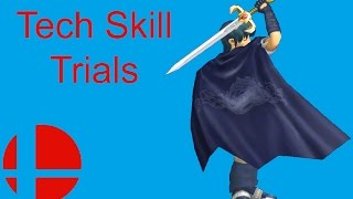 Marth Tech Skill Trials like Street Fighter Challenge Mode