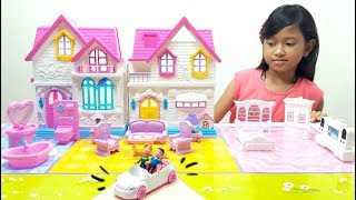 Download Video Mainan Anak Rumah Rumahan 💖 My Happy Family Sweety Home 💖 Let's Play Jessica MP3 3GP MP4