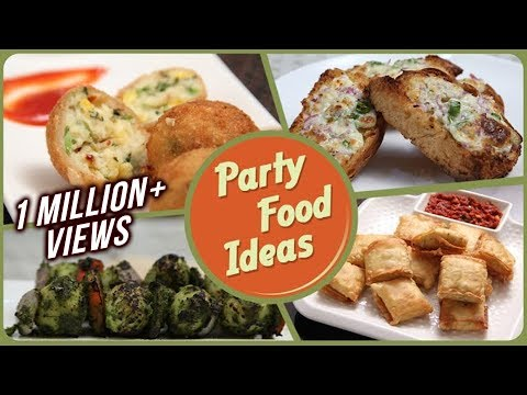 Party Food Ideas – Quick And Easy To Make Party Starters / Snack / Dips Recipe