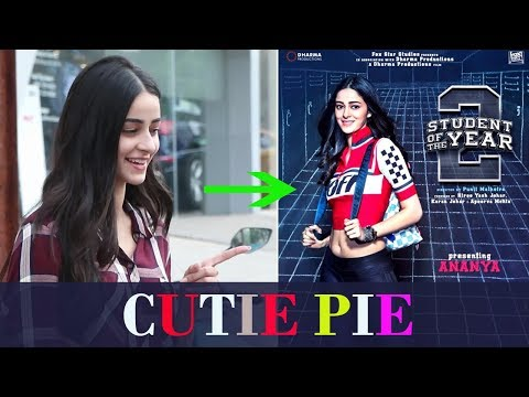 CUTIE PIE Ananya Pandey Spotted SPOTTED At Dance C