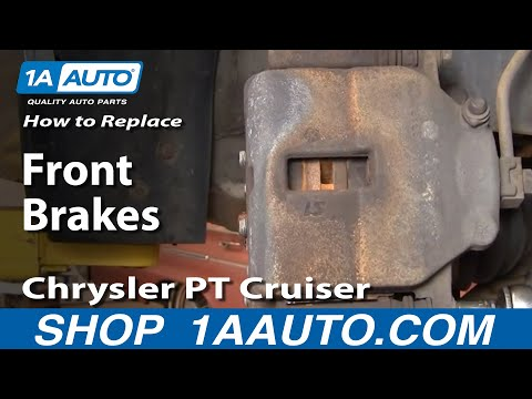 How To Install Repair Replace the Brakes on a Chrysler PT Cruiser 01-05 1AAuto.com