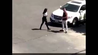 Man Gets in Trouble With his Latina Girlfriend