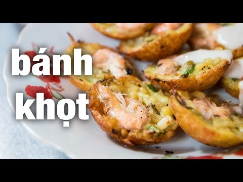 tasty - Banh khot are delicious crispy mini pancakes. Read about this wonderful Vietnamese street food on my blog now: http://migrationology.com/2015/01/banh-khot/ There are a near infinite amount...