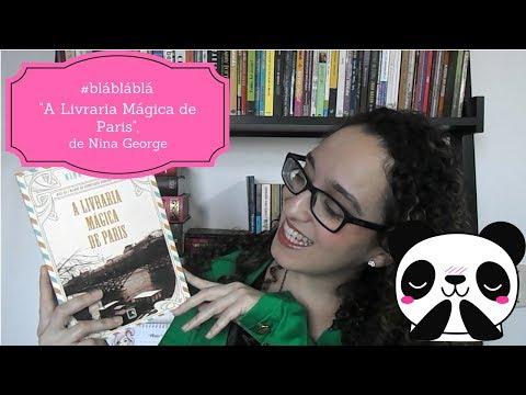 """#JáLi - """"A Livraria Mágica de Paris"""", de Nina George"""