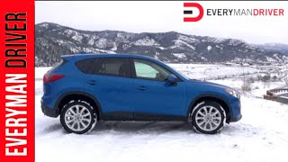 2013 Mazda CX-5 AWD DETAILED Review On Everyman Driver