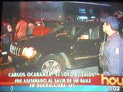 Asesinan al Loco Elizalde En Guadalajara.