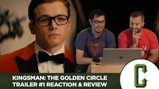 Kingsman: The Golden Circle Trailer #1 Reaction & Review