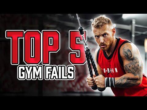 Mach das NICHT im Fitnessstudio | Die TOP 5 Gym Fails
