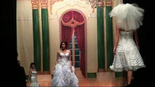 Sexy Lingerie  Wedding Fashion Show - Tuxedo&Hair Style - Bridal Flowers