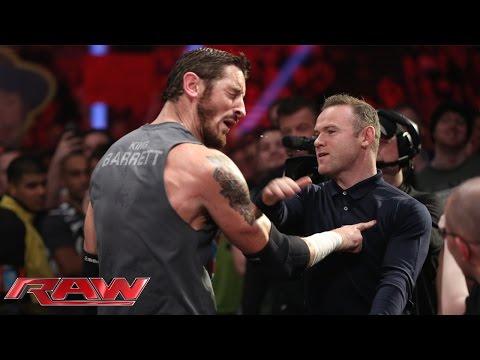 Manchester United Star Wayne Rooney slaps WWE Wade
